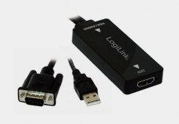 Konwerter VGA do HDMI z audio