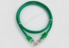 Patch cord UTP 1,5m zielony RoHS