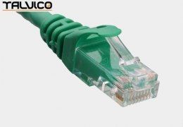 Patch cord UTP kat.6 0,25m zielony 6P10